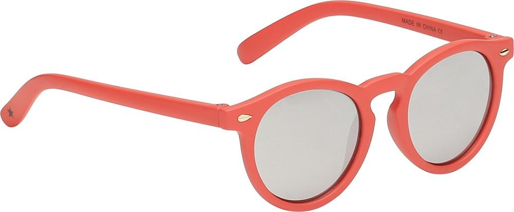 Sun Shine - Georgia Peach - Orangerøde baby solbriller
