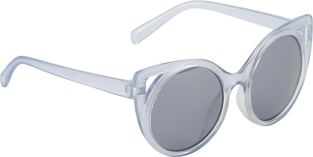Super Star - Halogen Blue - Transparente cateye solbriller