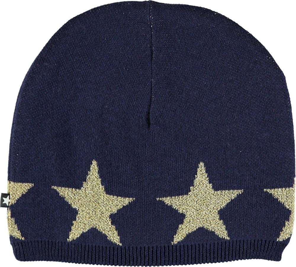Colder - Evening Blue - Mørkeblå hue med stjerner