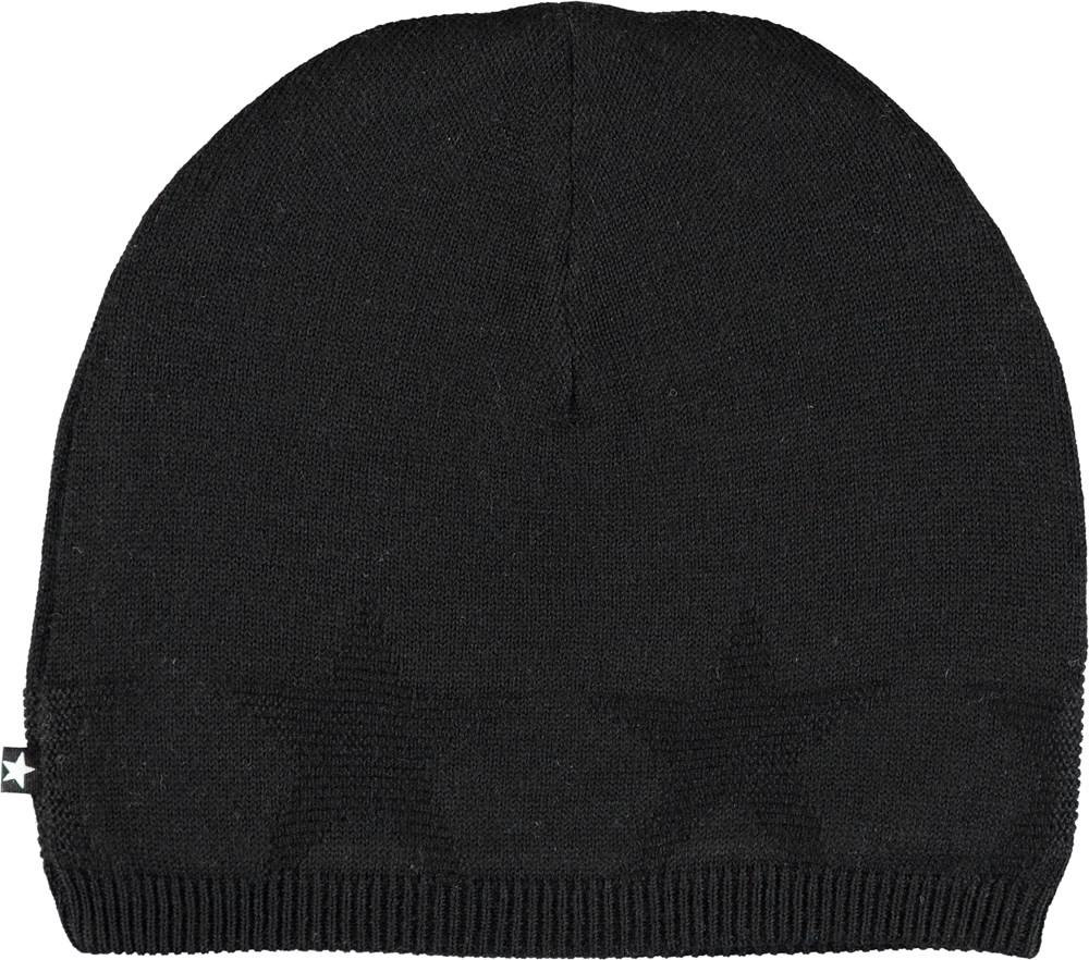 Colder - Very Black - Sort hue med stjerner