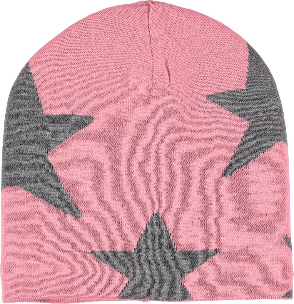 Colder - Bubble Pink - Lyserød hue med stjerner.
