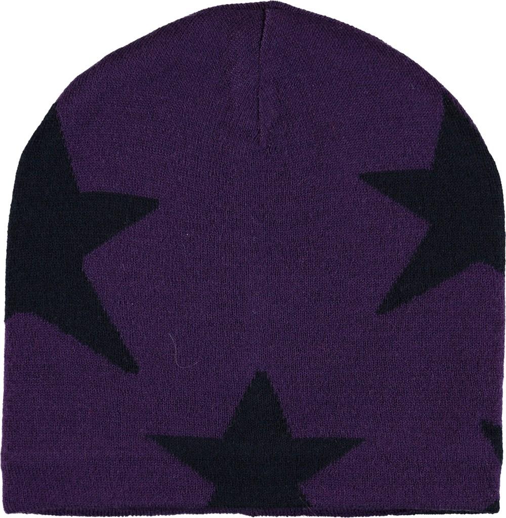 Colder - Dark Purple - Lilla hue med stjerner.