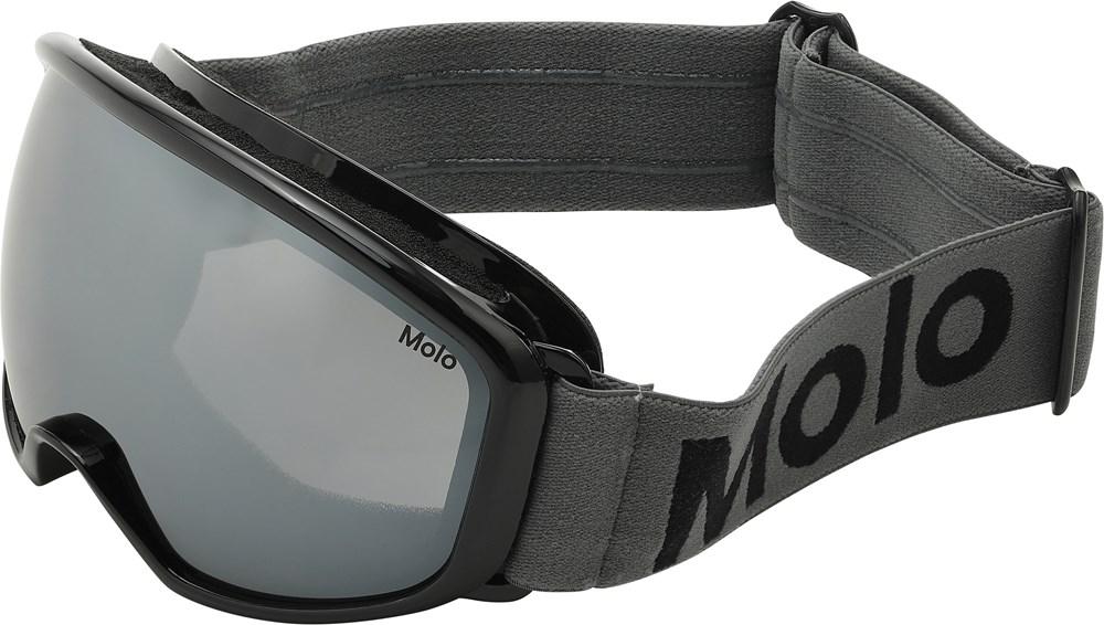 Frameless - Smokey Grey - Sorte skibriller.