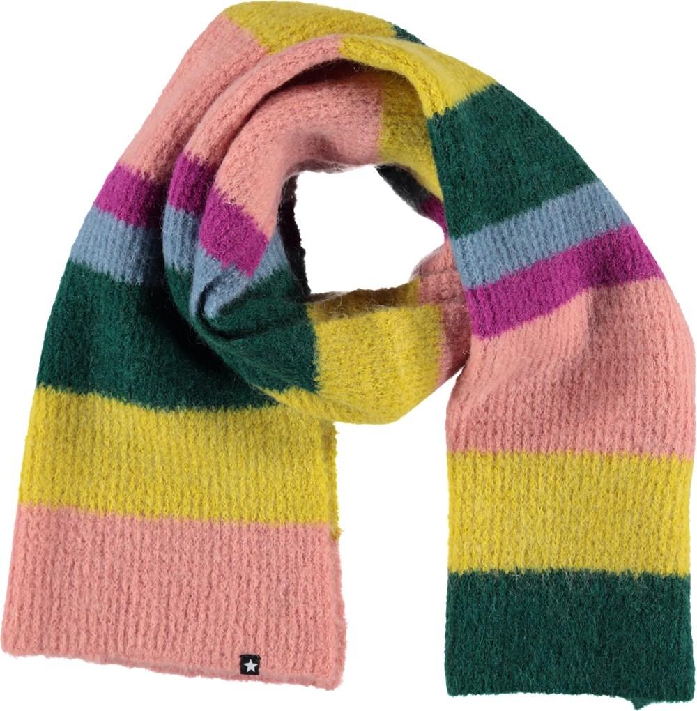 Krystle - Multi Stripe - Stribet halstørklæde.