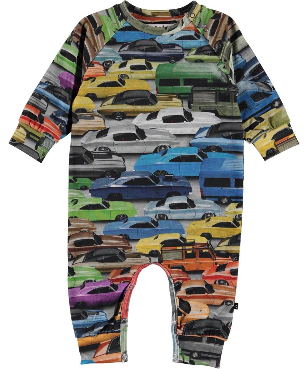 Fairfax - Cars - Organic baby bodysuit with cars