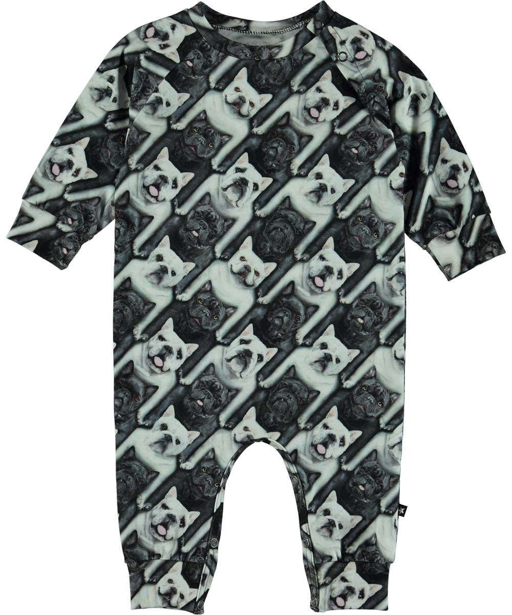 Fairfax - English Bulldog - Baby Romper