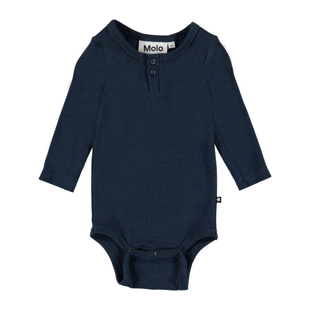 Falk - Infinity - Falk baby body - infinity blue - Molo