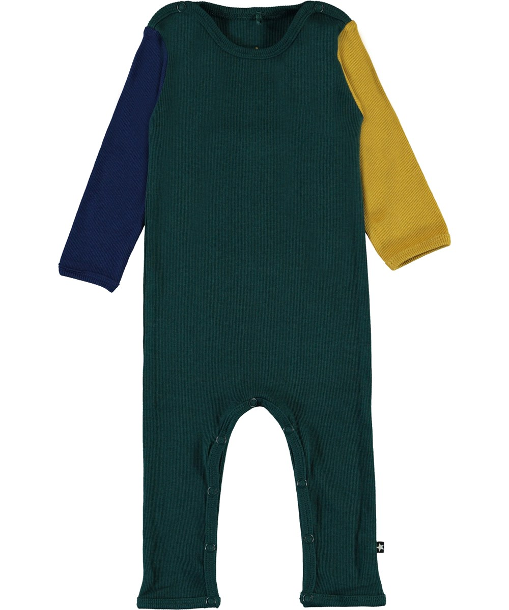 Fenez - Colour Block - Colour-block rib baby body