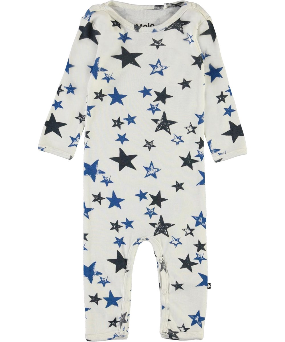 Fenez - Stars - Baby bodysuit with star print