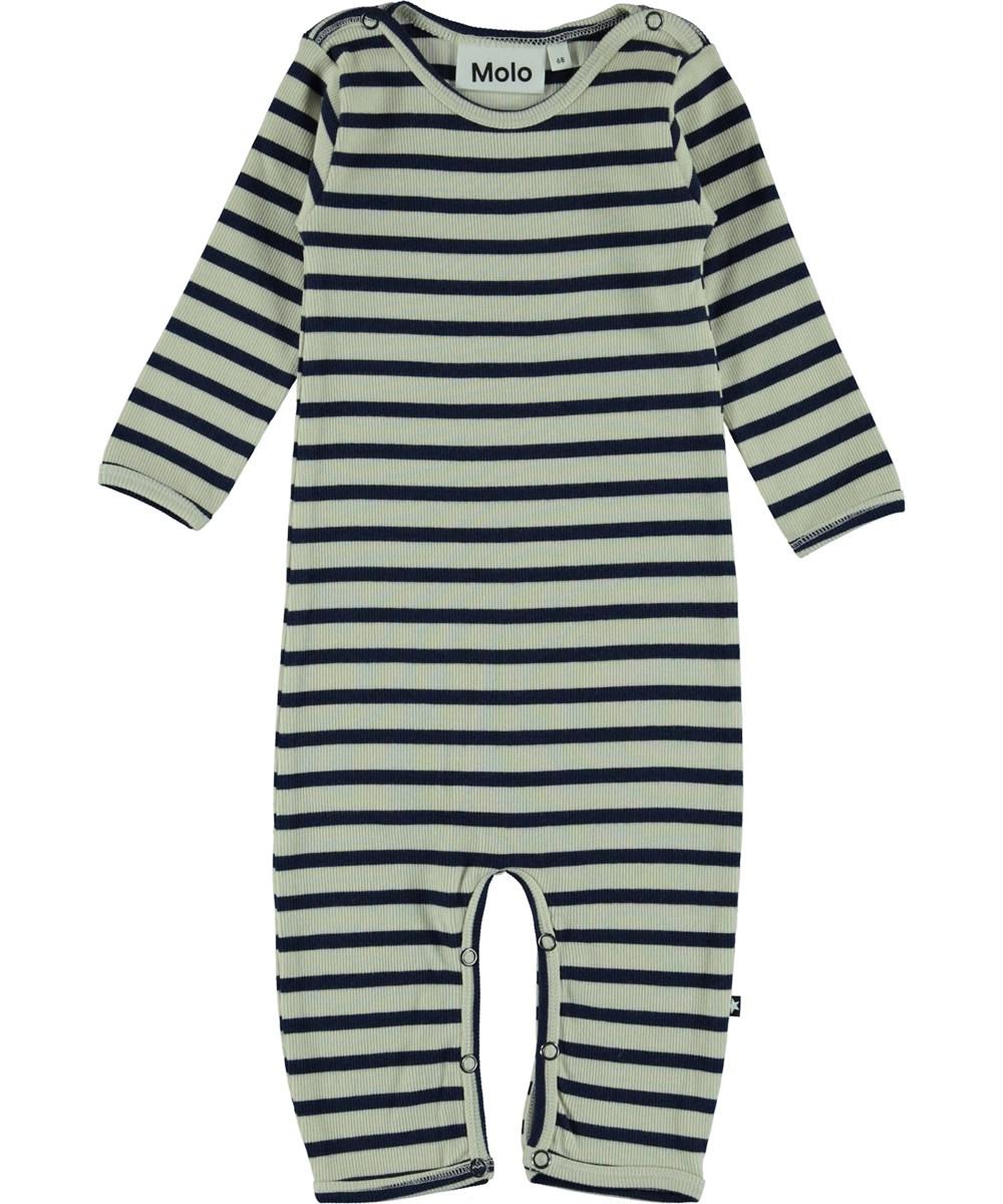 Fenez - Sailor Blue Stripe - Baby Romper