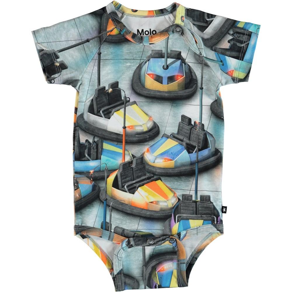 Feodor - Bumper Car - Baby Bodysuit