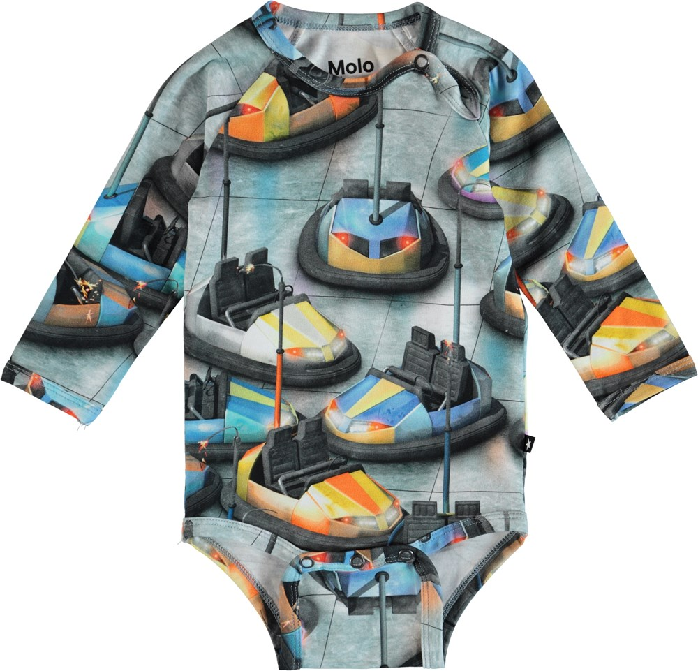 Field - Bumper Car - Molo Baby Bodysuit