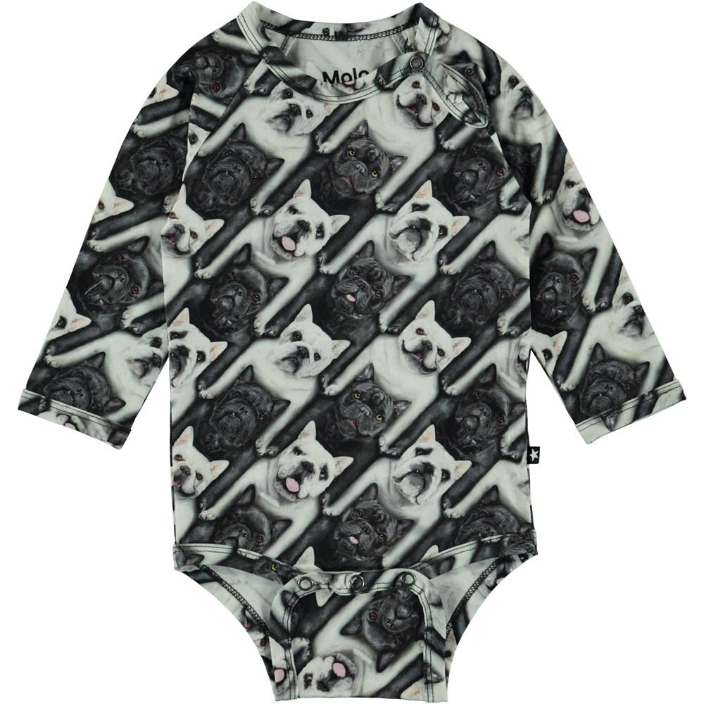 Field - English Bulldog - Molo Baby Bodysuit