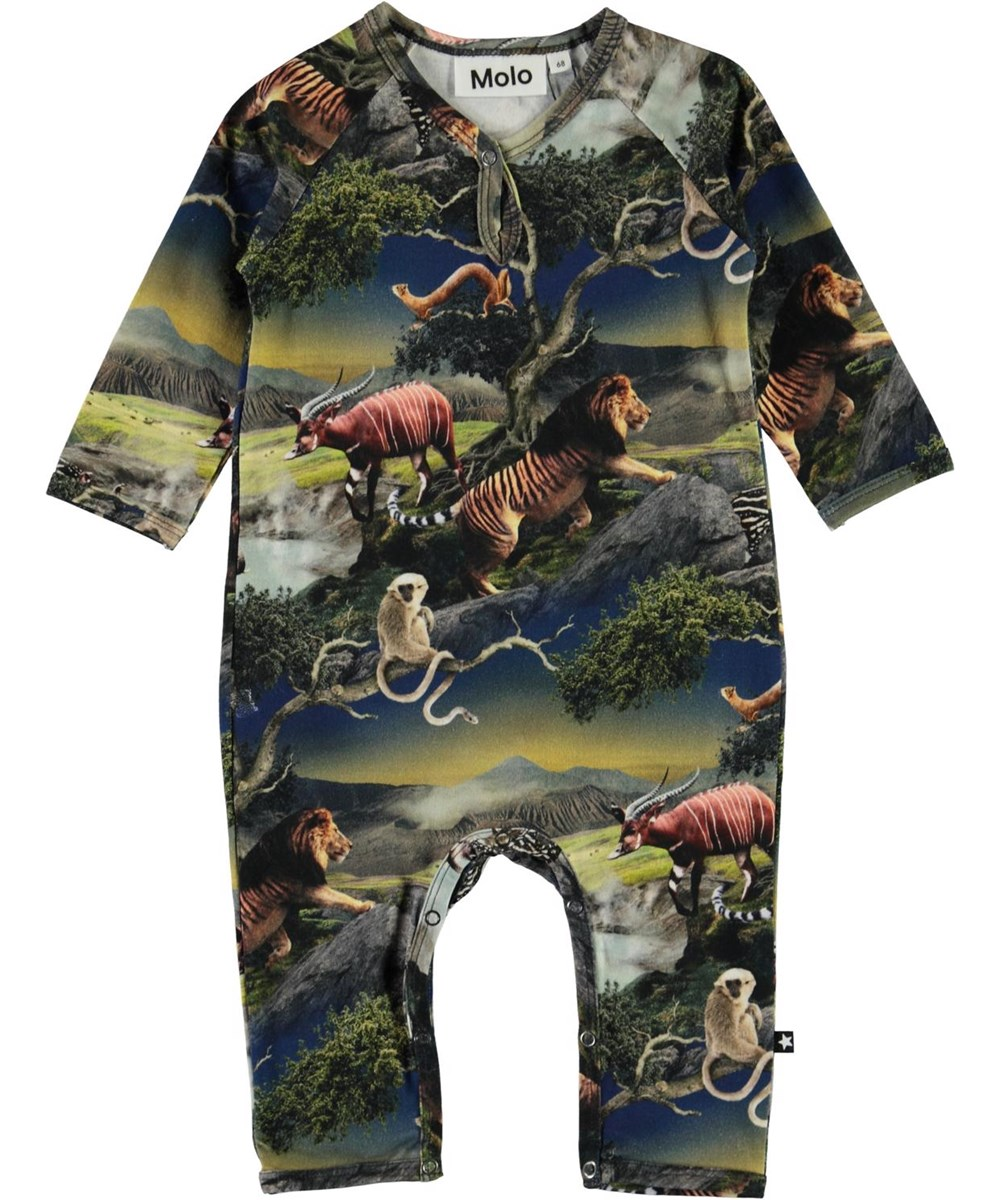 Fleming - Future Animals - Baby romper with futuristic animals