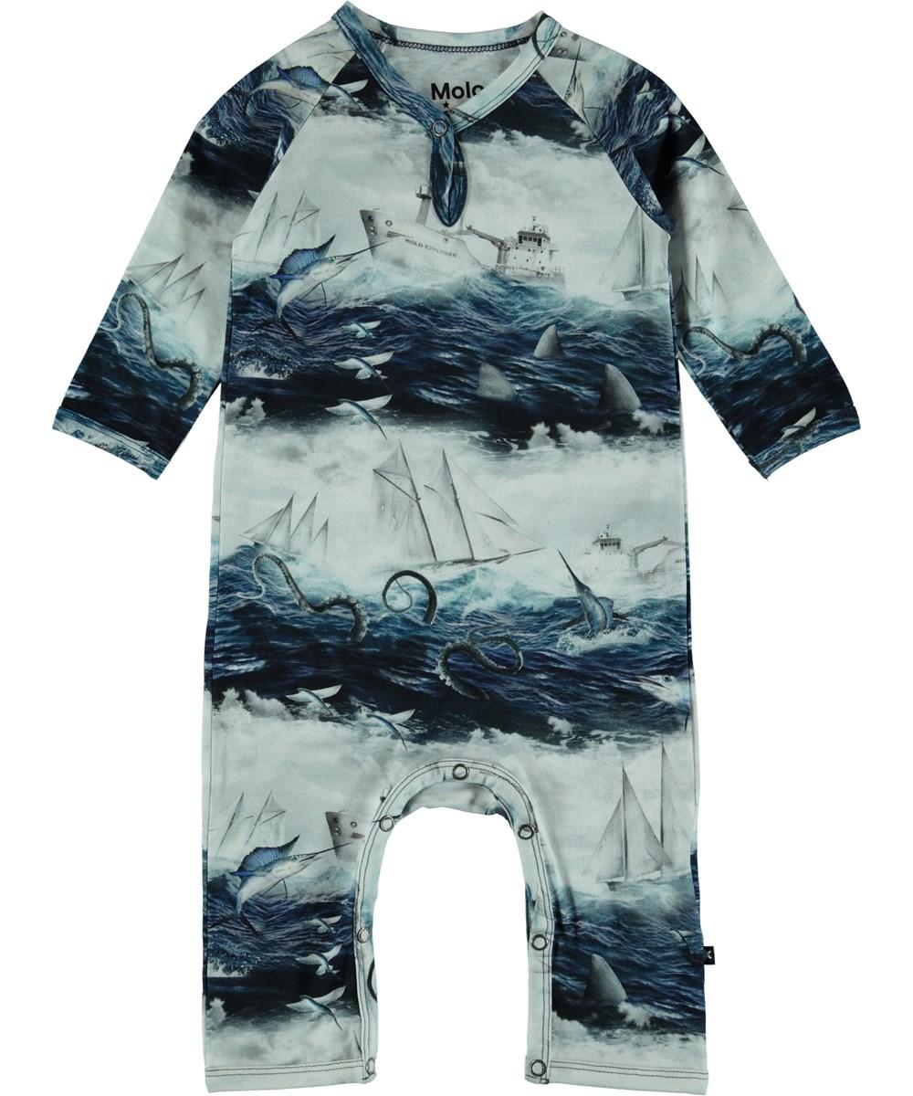 Fleming - Sailor Stripe - Baby Romper
