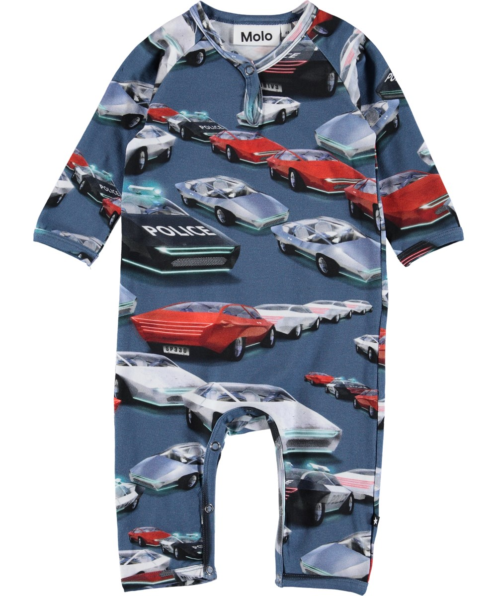 Fleming - Self-Driving Cars - Baby romper with cars.