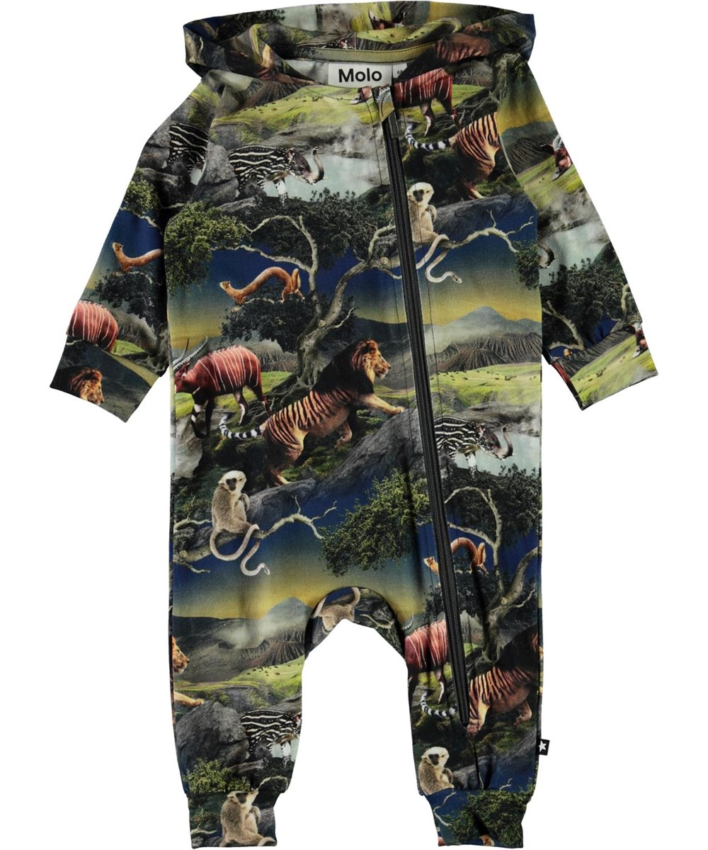 Fowo - Future Animals - Organic romper with animals
