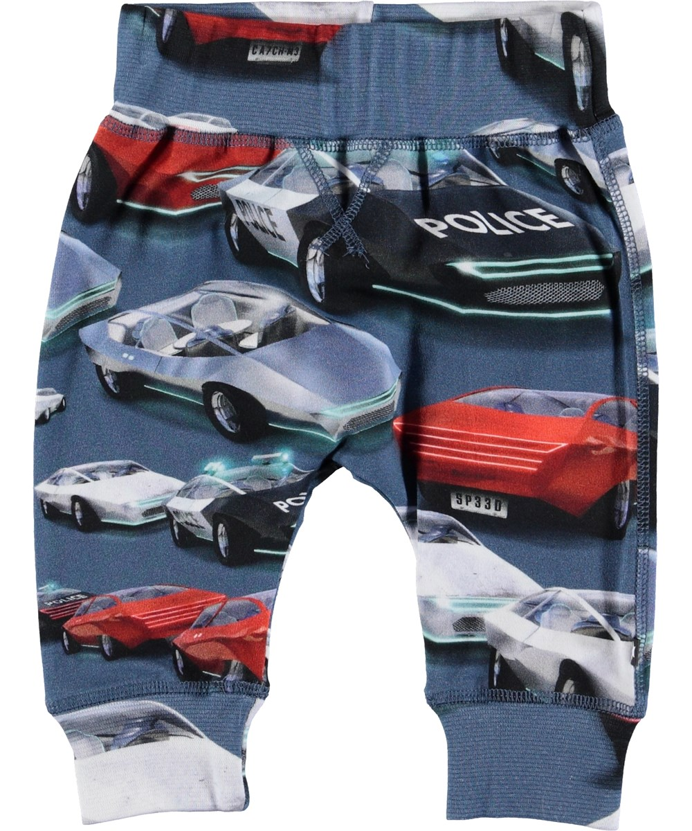 Sammy - Self-Driving Cars - Baby trousers with cars.