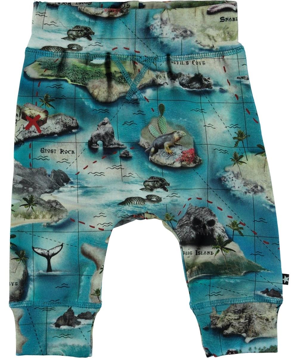 Sammy - Treasure Map - Baby Trousers - S