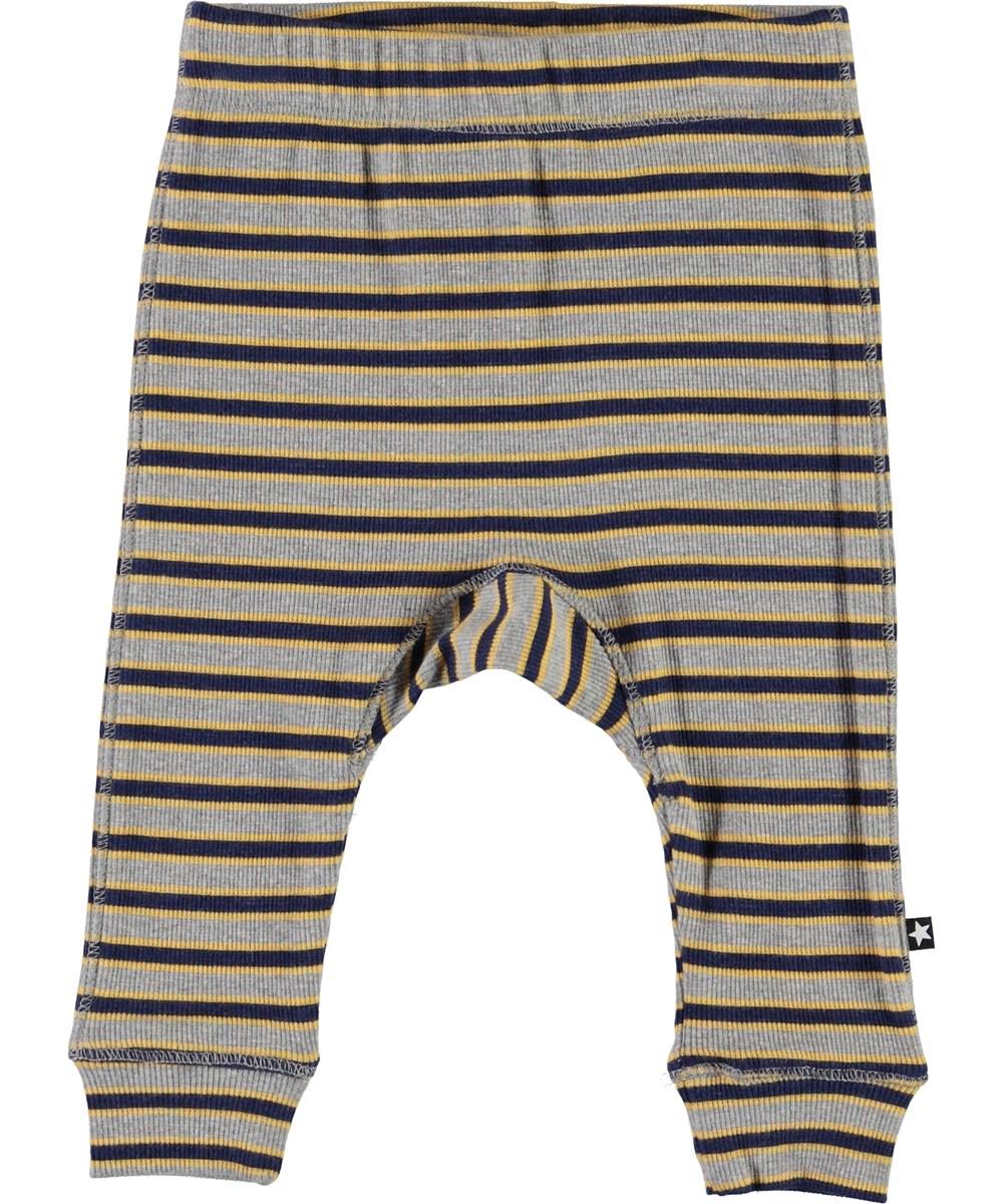 Seb - 3 Colour Stripe - Striped baby trousers