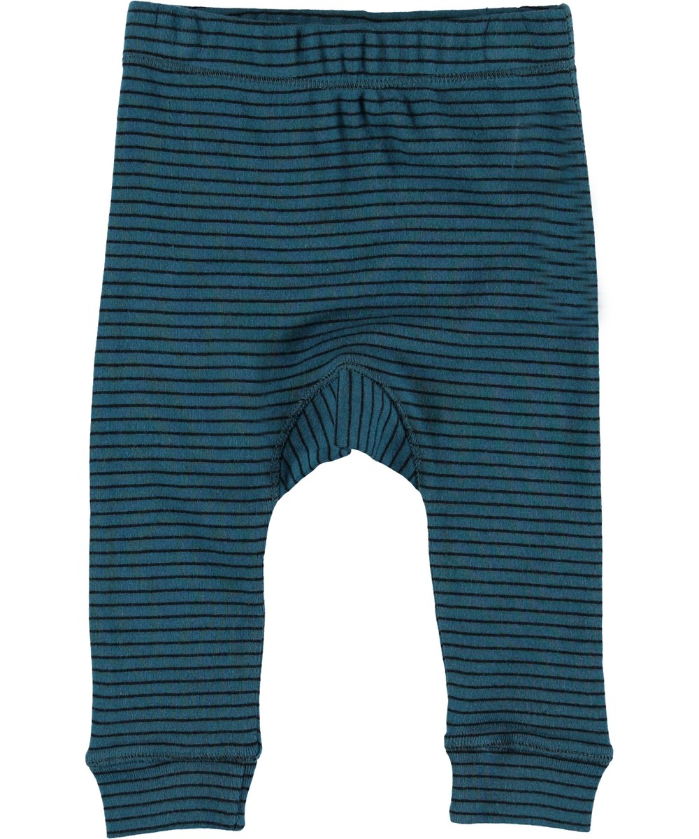 Seb - Frozen Deep Stripe - Baby trousers with stripes.