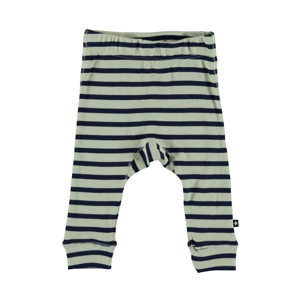 Seb - Sailor Blue Stripe - Baby Trousers