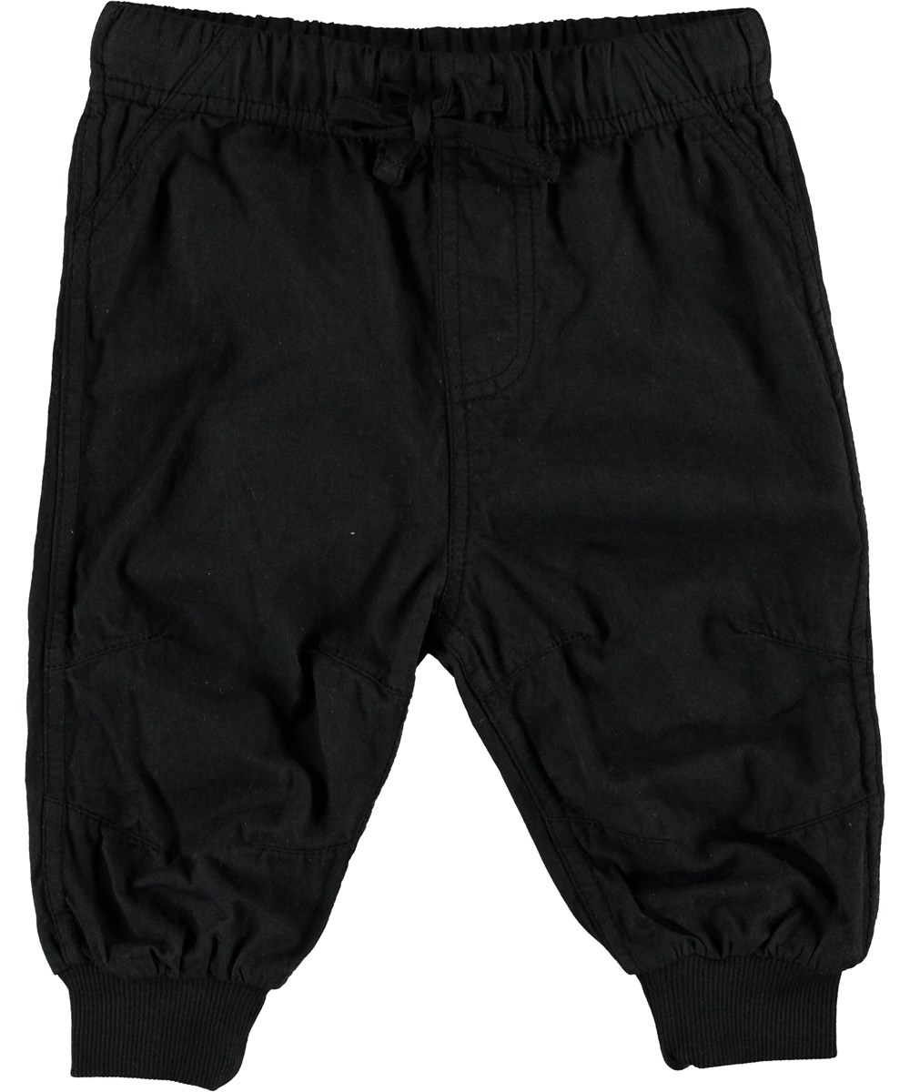 Shay - Black - Black baby trousers