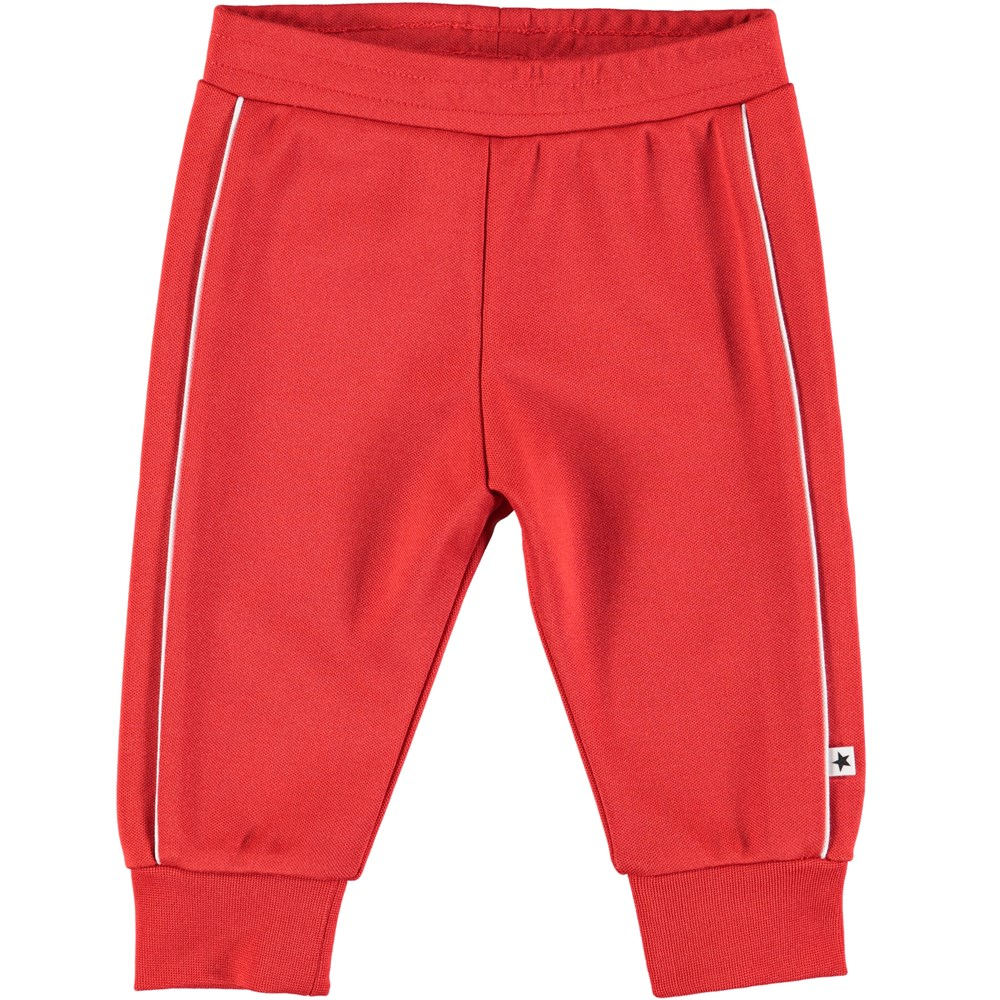Sid - Heart - Red baby sweatpants