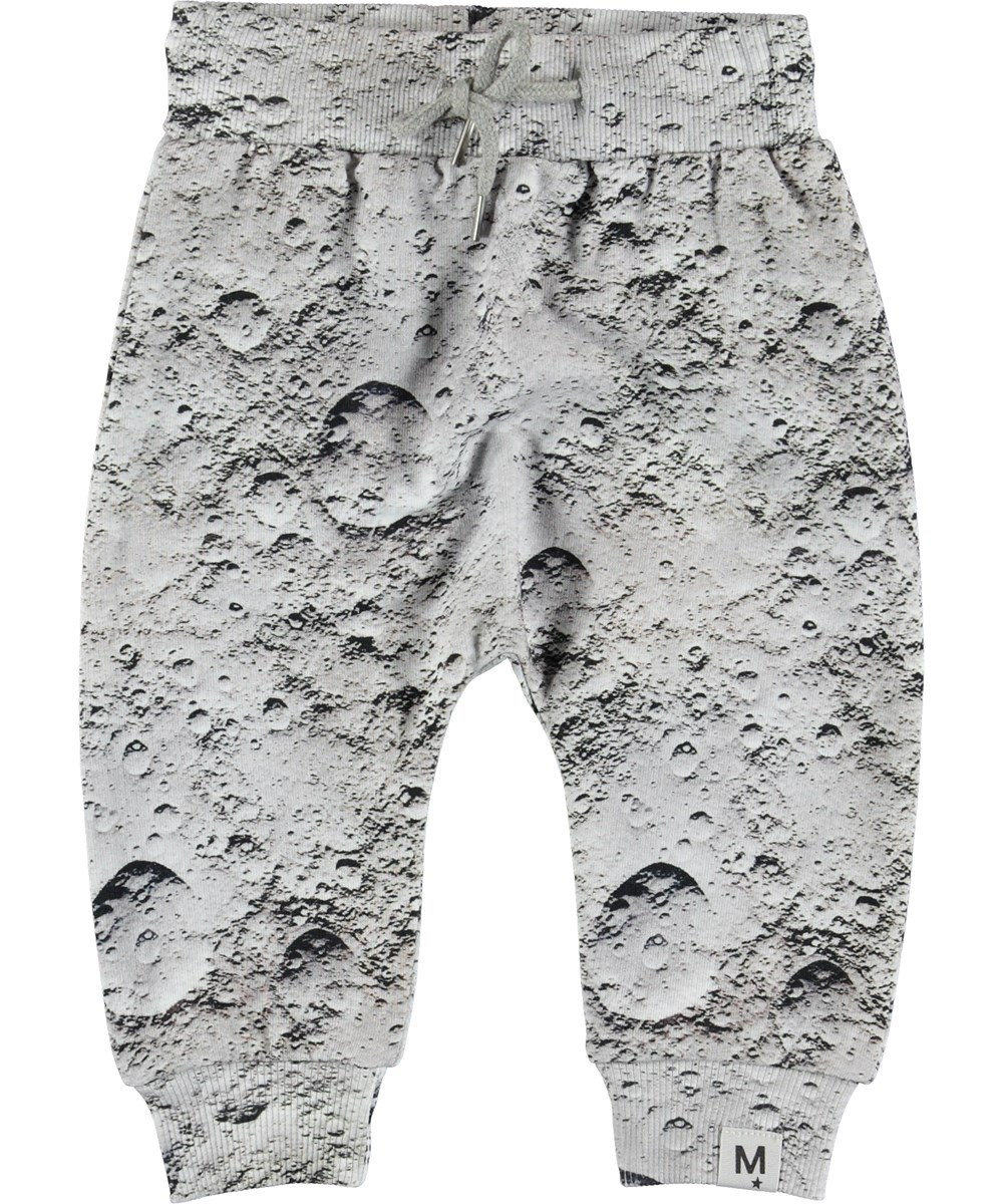 Solom - Moon - Grey baby trousers.