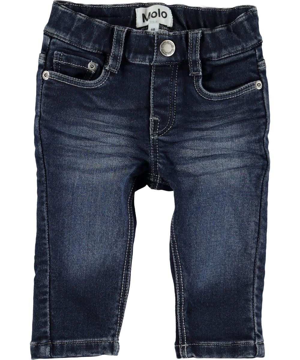 Sonny - Dark Indigo - Blue baby jeans.