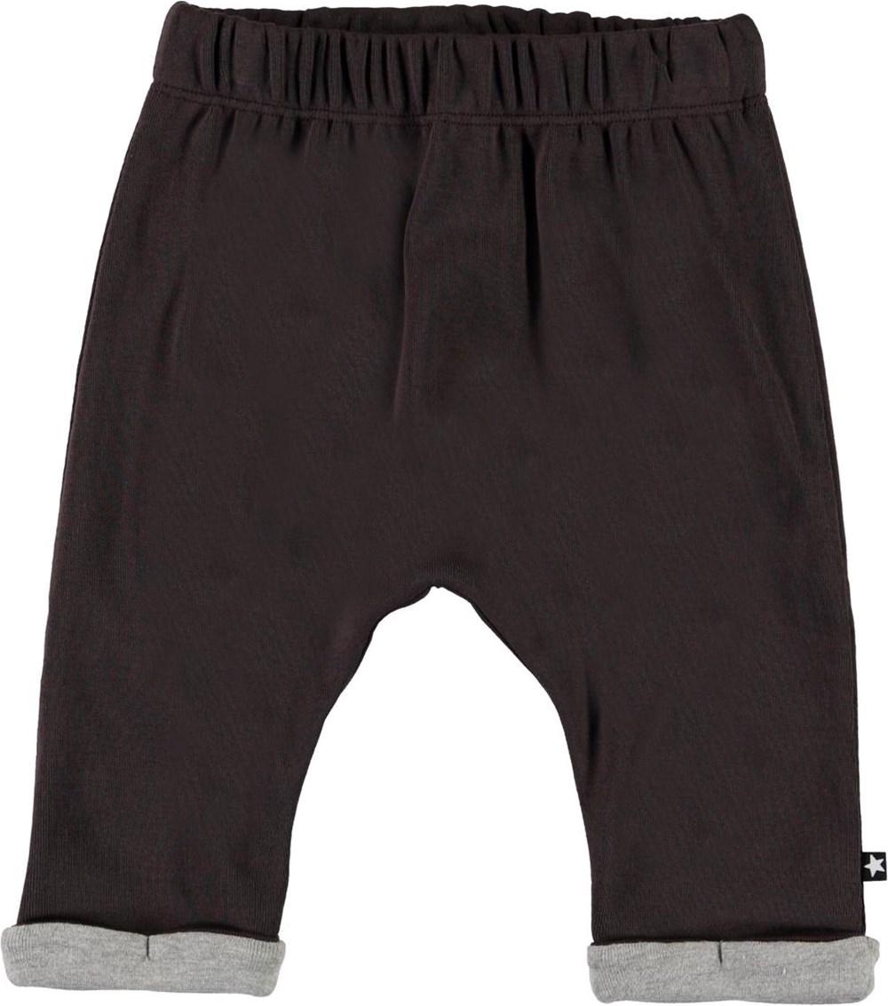 Soyo - Brown Darkness - Brown baby sweatpants