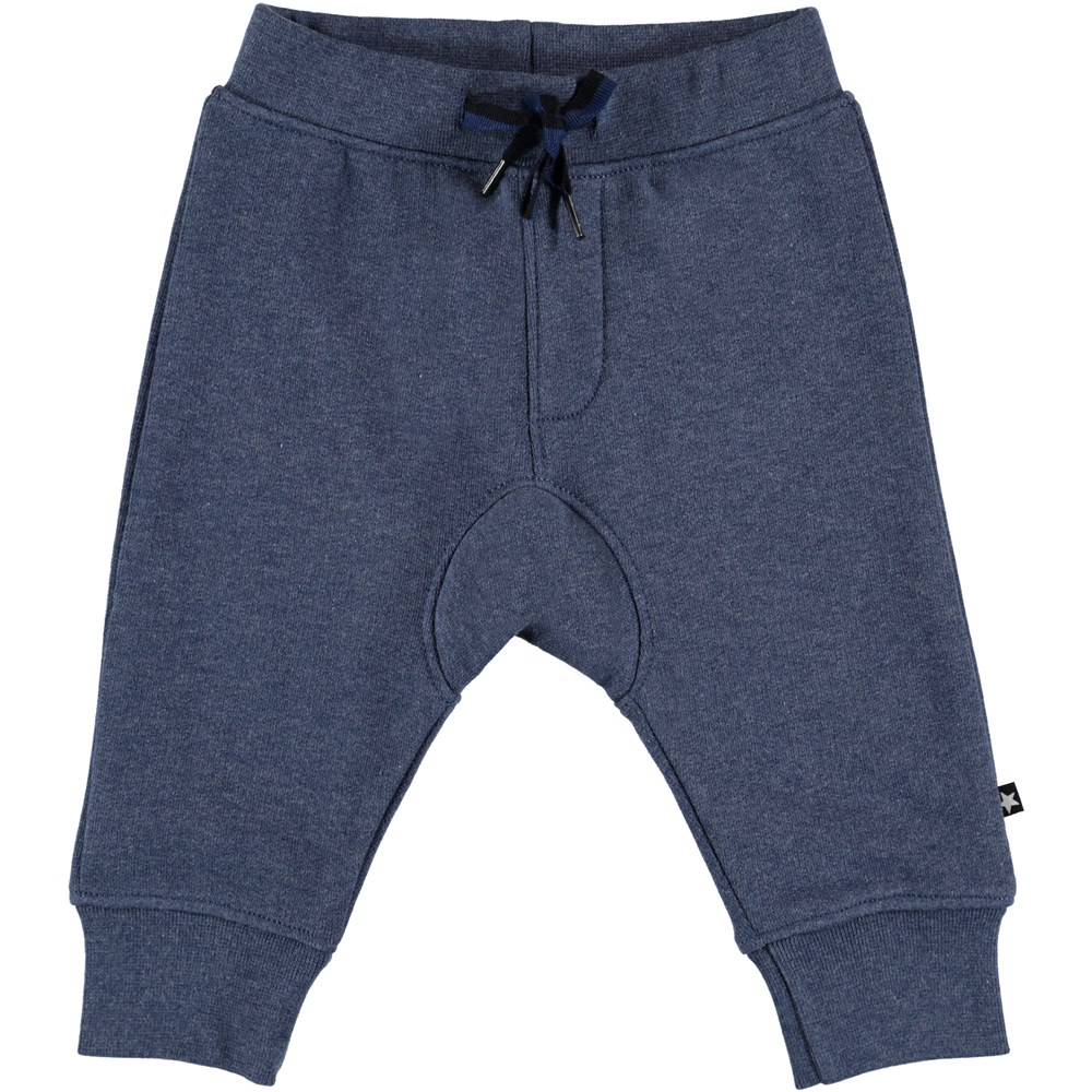 Stan - Infinity Melange - Dark blue baby sweatpants.