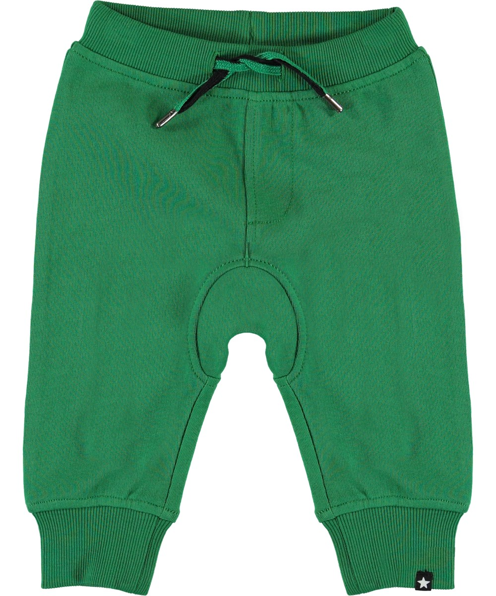 Stan - Jungle - Green baby sweatpants