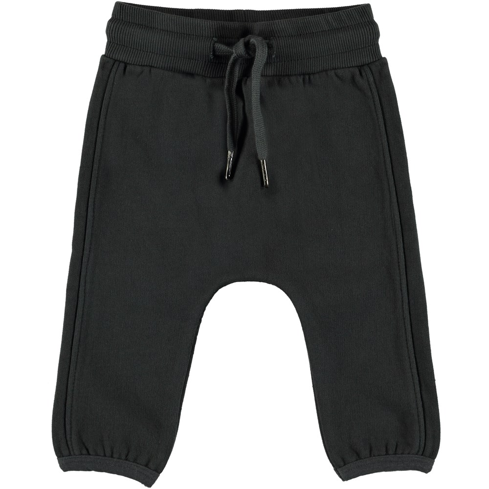 Stig - Pirate Black - Baby jogging trousers.
