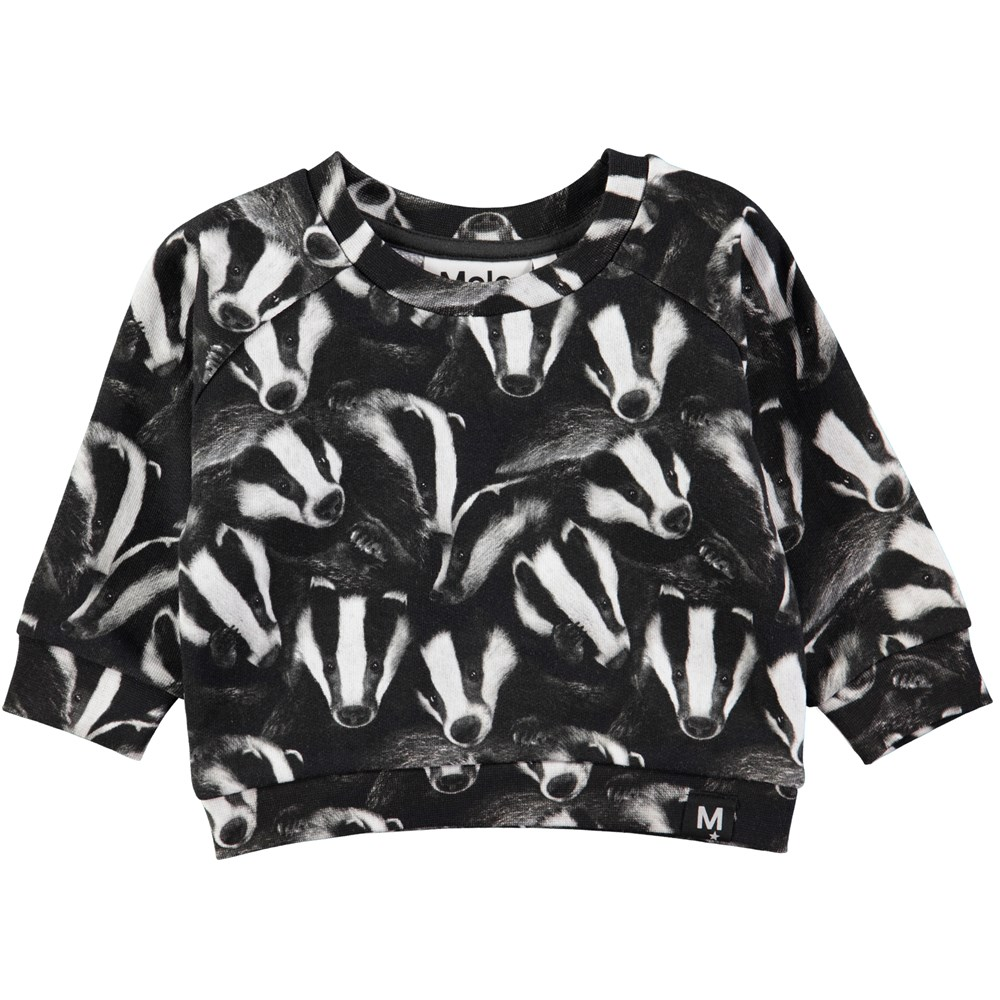 Dag - Badgers - Sweet baby sweatshirt with badgers