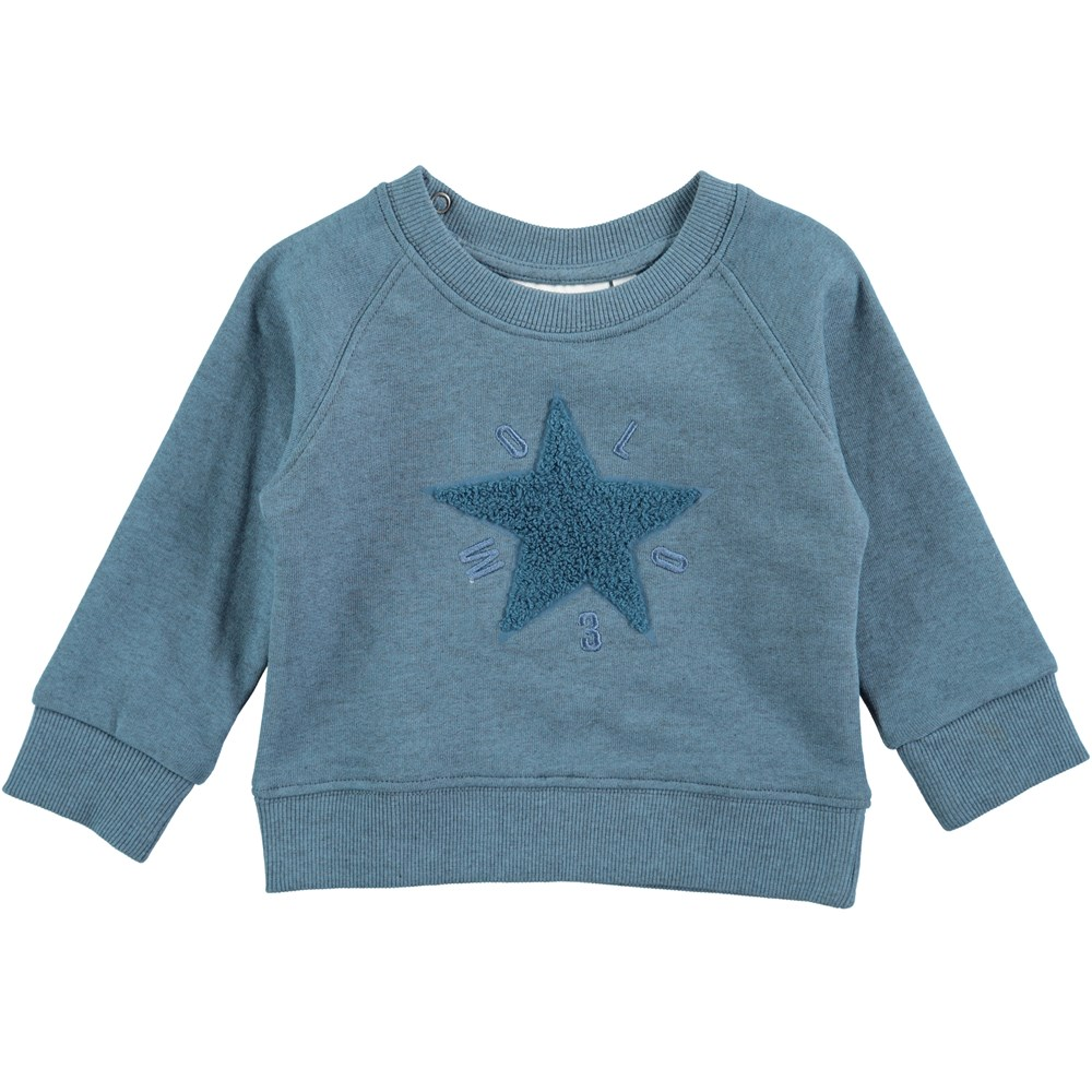 Dines - Stellar Blue - Soft long sleeve sweatshirt