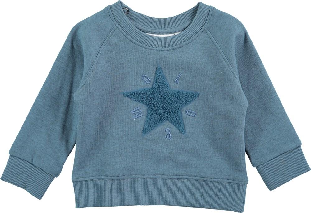 Dines - Stellar Blue - Soft long sleeve sweatshirt