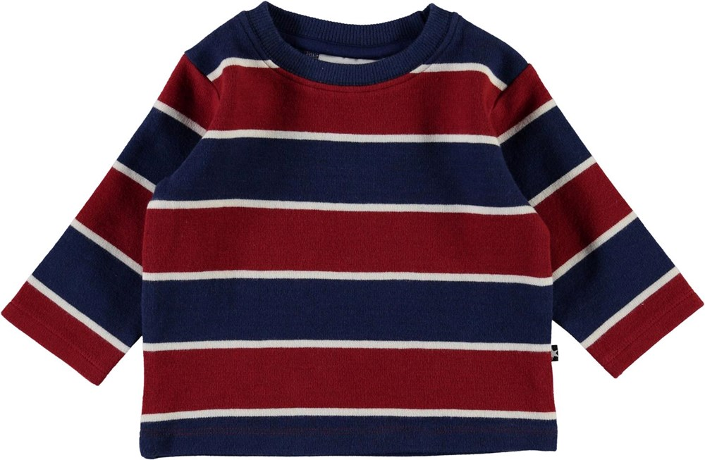 Diorian - 3 Colour Stripe - Striped baby top