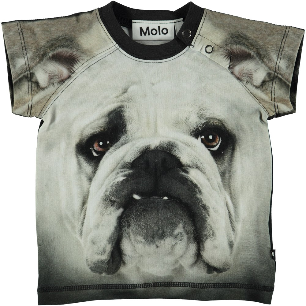 Egon - Black`N White Bulldog - Baby T-Shirt Black´N White Bulldog
