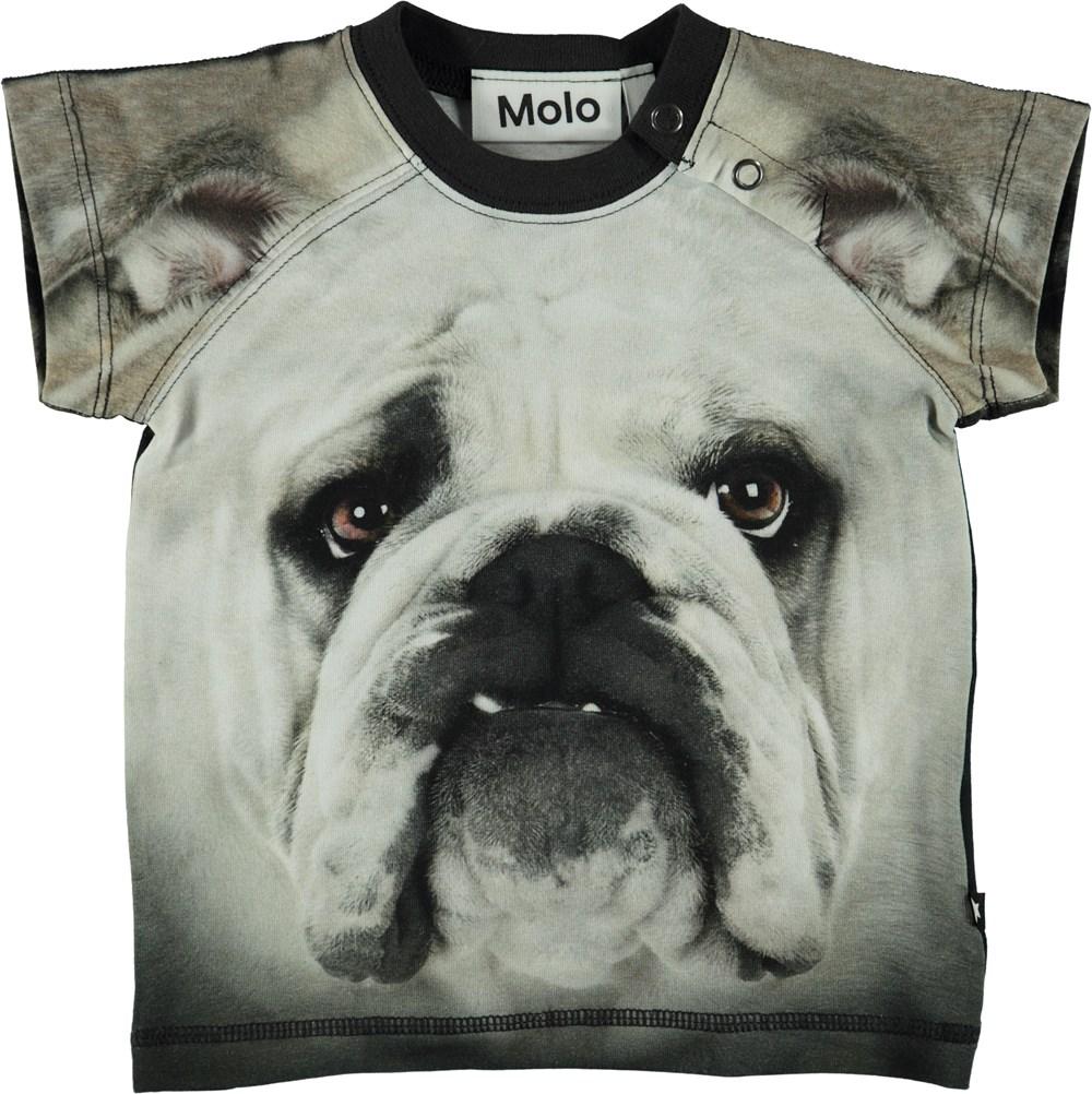 Egon - Black`N White Bulldog - Baby T-Shirt Black´N White Bulldog