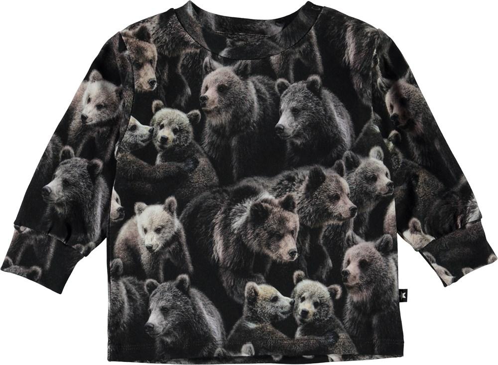 Eloy - Bears - Organic baby top with bears