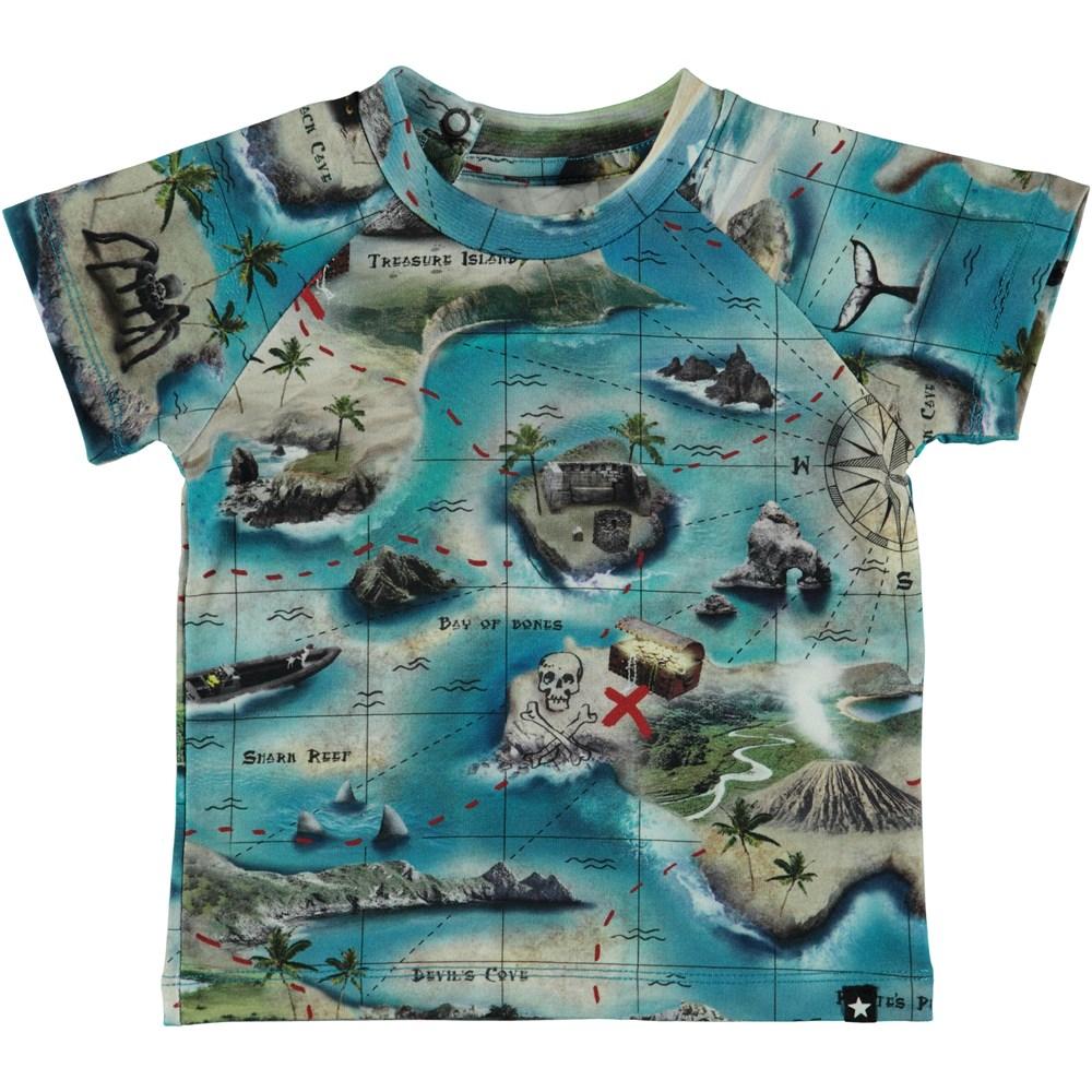 Emmett - Treasure Map - Baby T-Shirt S