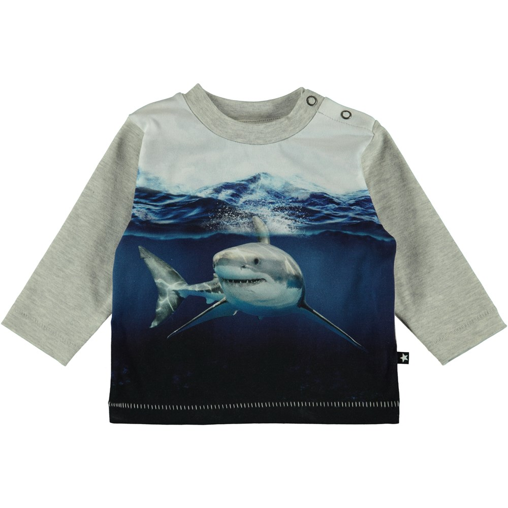 Enovan - Friendly Shark - Baby Top