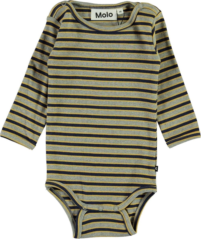 Fair - 3 Colour Stripe - Stribet baby body