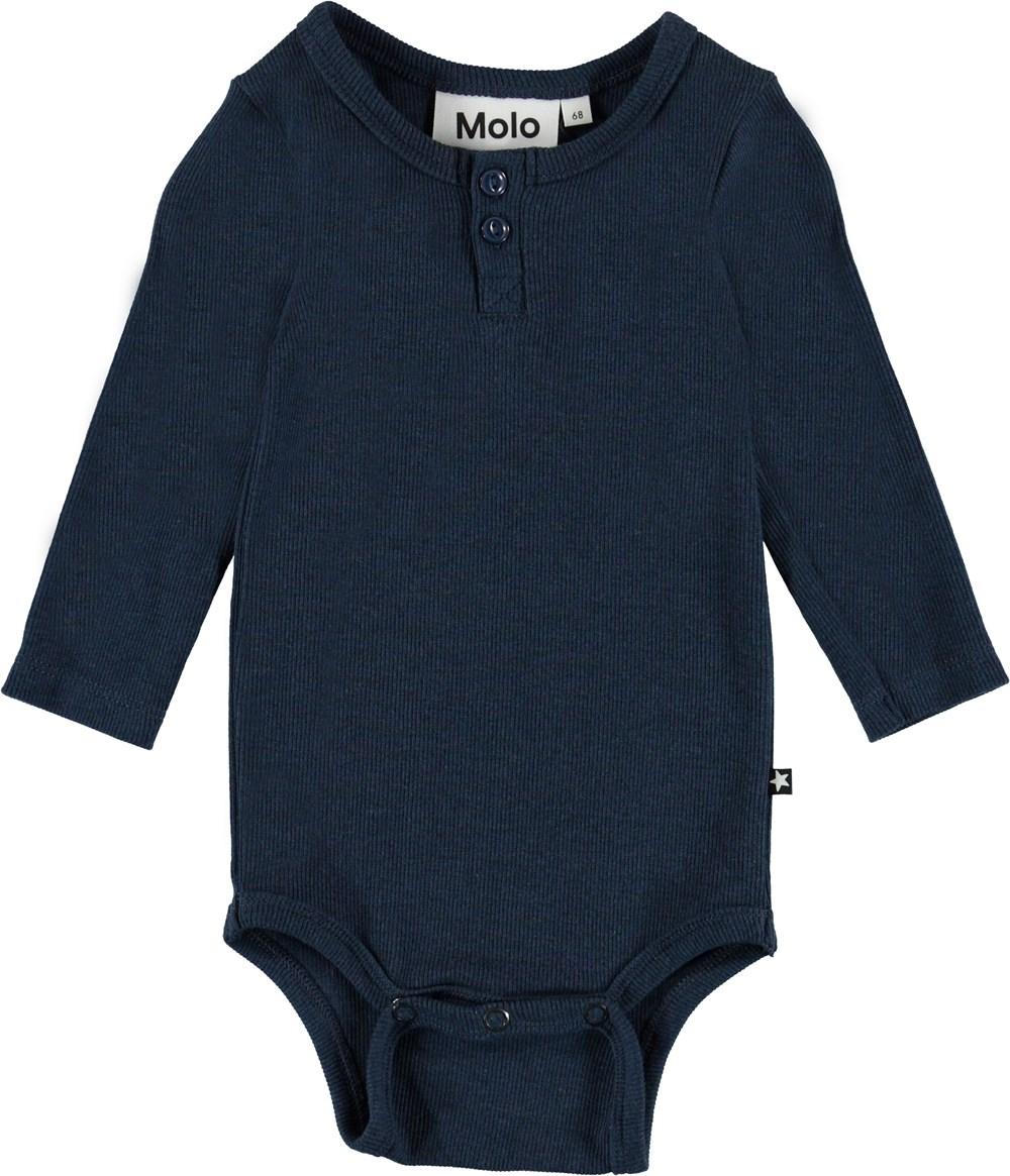 Falk - Infinity - Falk baby body  - Infinity blå - Molo