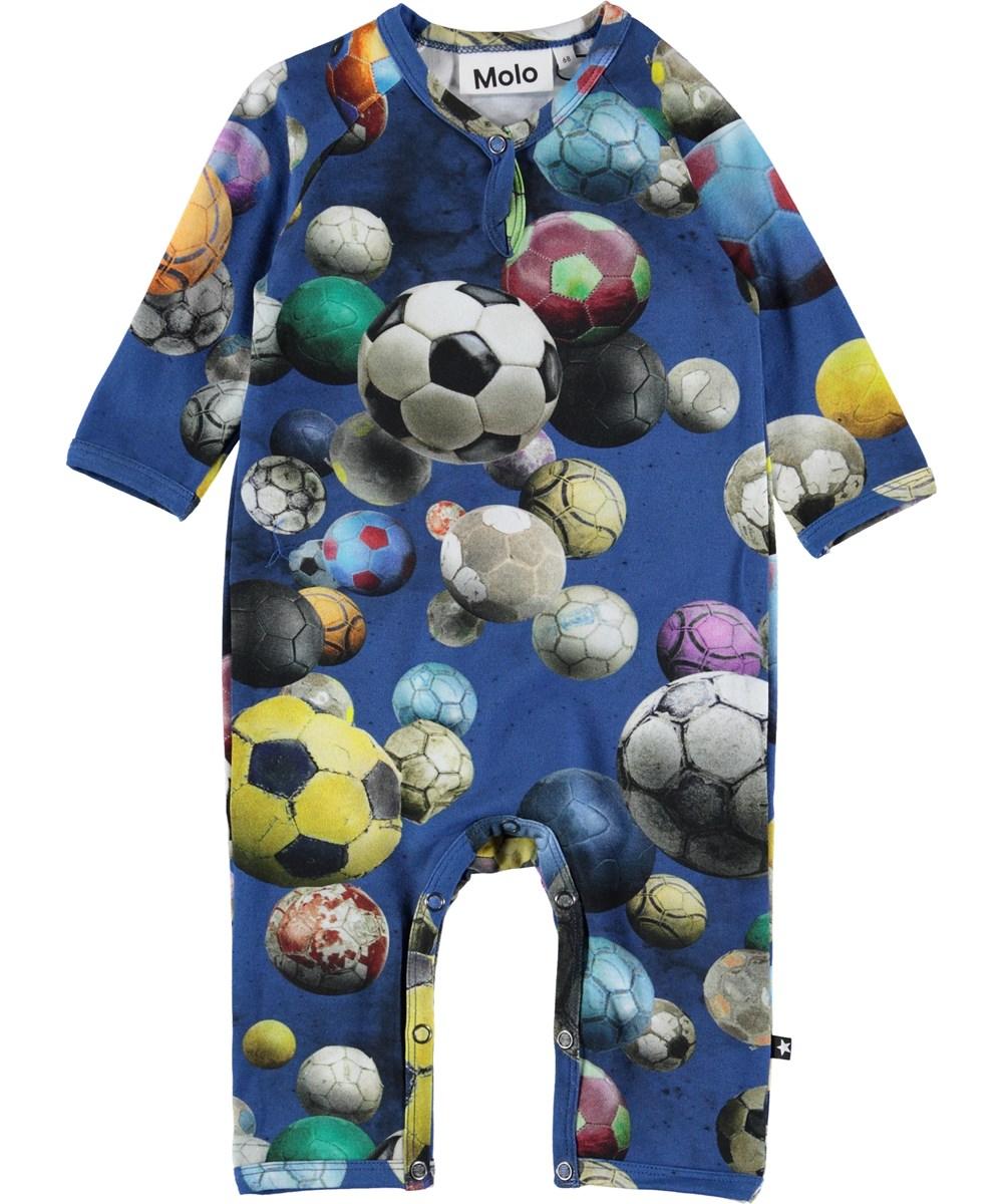 Fleming - Cosmic Footballs - Baby body med fodbolde.