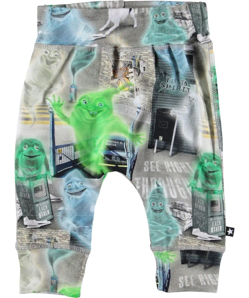 Sammy - Ghost City - Baby bukser med spøgelser.