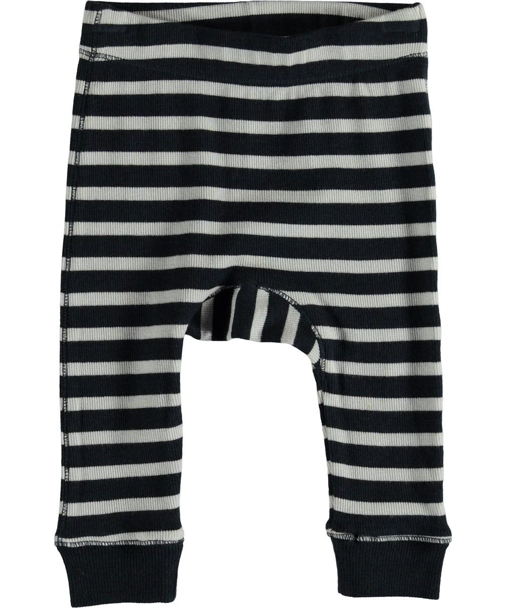 Seb - Carbon Stripe - Baby bukser med striber.