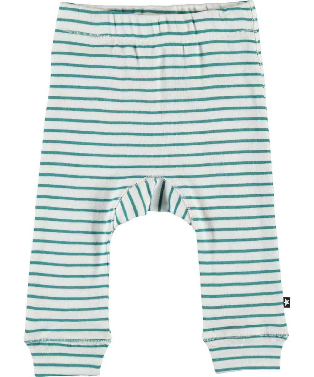 Seb - Kerosene Stripe - Økologiske baby bukser med striber