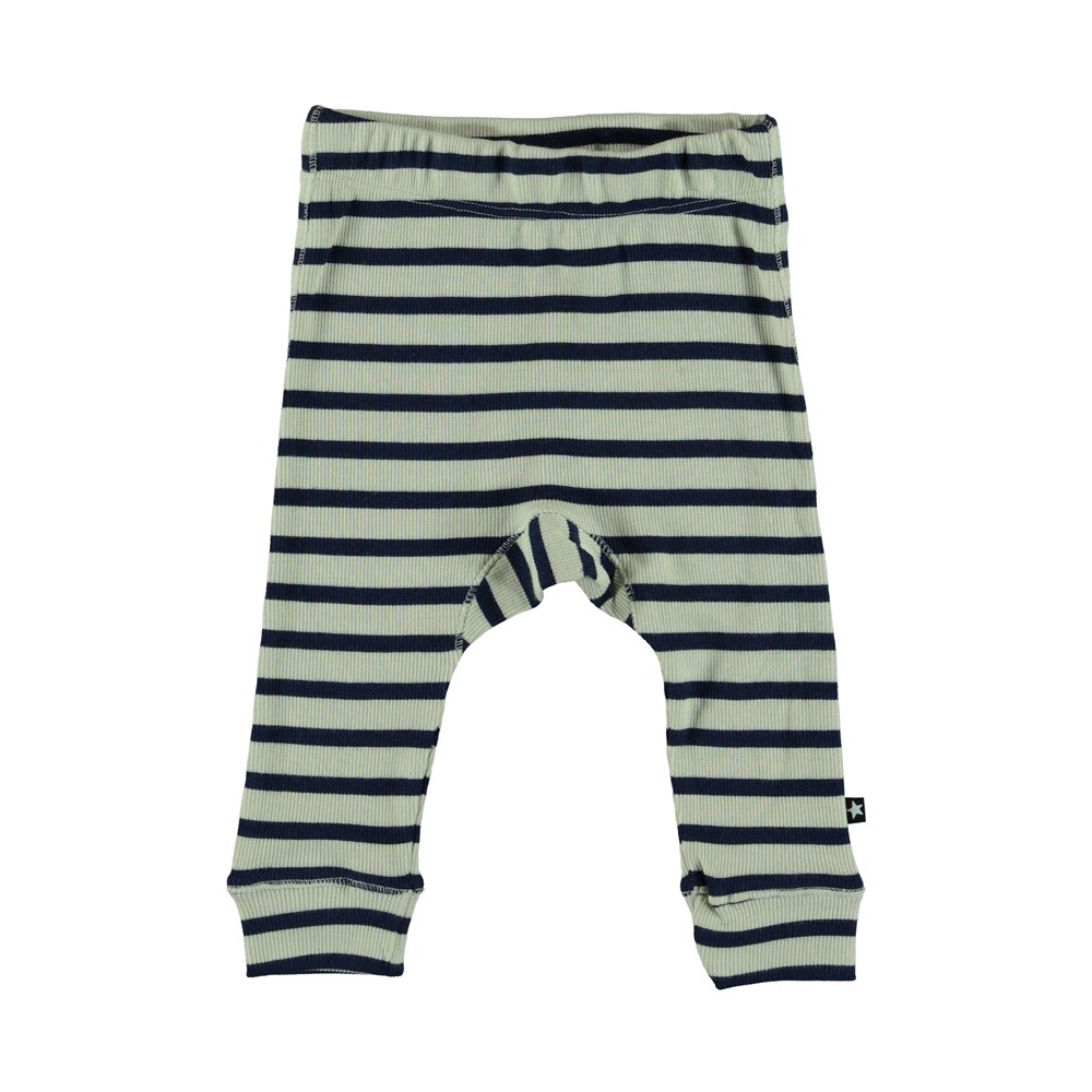 Seb - Sailor Blue Stripe - Baby Bukser